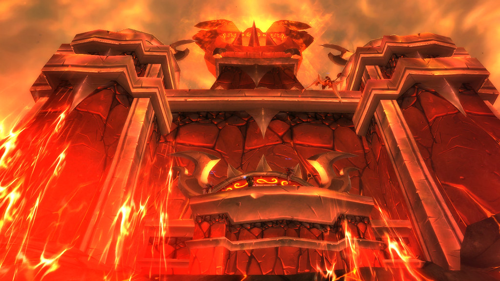 Fire from the lava to the sky - Firelands 4.2