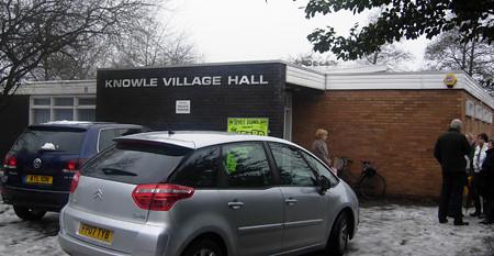 knowle village hall