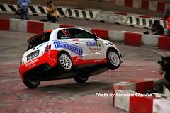 Opsssss (claudio.santucci) Tags: crash genova abarth palasport 2011 new500 500abarth rallydellalanterna trofeorallyasfalto provaspettacolo fiatcorse