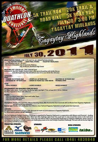 Highlands Twilight Duathlon Challenge