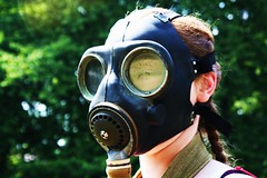 Gas mask, 14 June 2011
