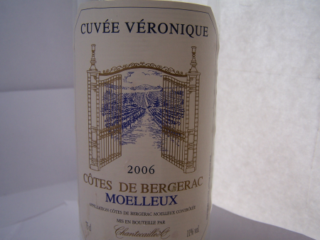 Cuvée Véronique moelleux 2006