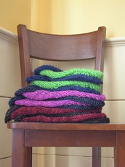 stacks of wool