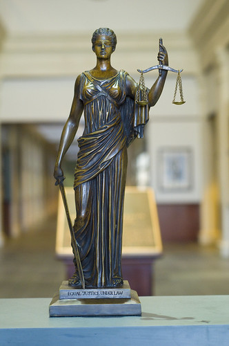 Lady Justice revisited
