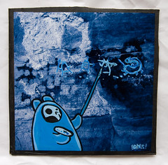 """""""...and then there was two."""" (Bonus Saves) Tags: blue project germany painting squares cardboard photograph marker carton bonus bound faf permapaque itsyourstakeit"""