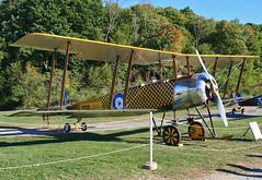 Avro 504K (N4929) at Old Rhinebeck (Reproduction) (dlberek) Tags: world war trainer biplane 504k classicaircraft aircraftold siralliottverdonroe ireproduction rhinebeckcole palenbiplanebritish aircraftavro n4929