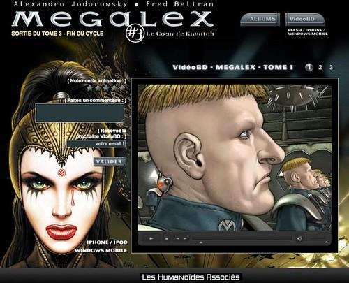 Megaplex sur le Web : Les Humanoïdes Associés inventent la VidéoBD