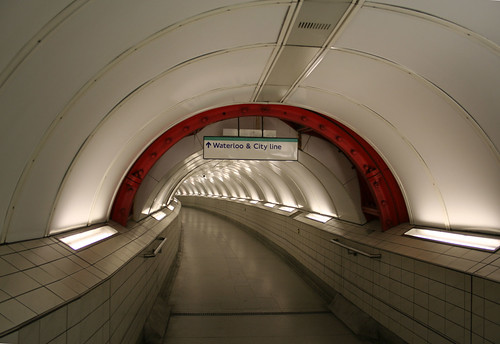 Greathead Shield in Bank Station - 1