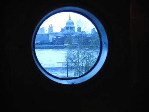 St Paul's, seen from Jean Prouve's Tropical House