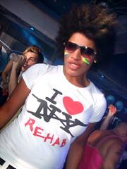 face sunglasses club cool birmingham paint pride 2008
