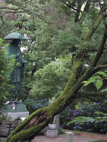 Shikoku pilgrimage(18 Onzanji Temple ,恩山寺)