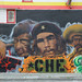 Mural: Che Guevara, Cesar Chavez, and Emiliano Zapata