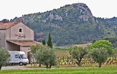 St Chianan FP #2 (canong2fan) Tags: france mountains vines cross vineyards olivetrees hymer campingcar canon40d francepassion motorhomestopover wohnmobilestellplatz closbagatelle stchianan efs1785mmislens