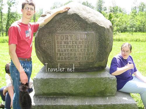 Fort Bull Marker Stone