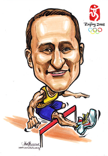 Caricature for Microsoft Australia Team Olympics
