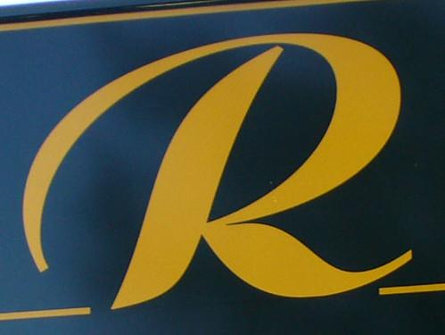 r letter alphabet oneletter