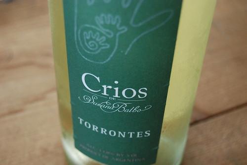 Crios de Susana Balbo Torrontes 2007