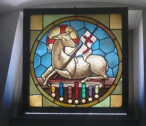questa è la foto di una delle finestrelle nella Chiesa della Natività a Roma, sono un po' stanca, non riesco a fare tuto quello che vorrei dans immagini sacre