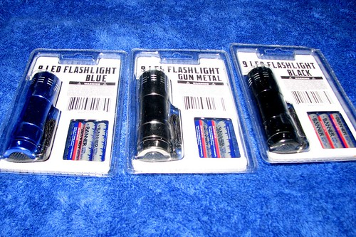Flashlight Packaging Rear