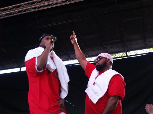 Raekwon & Ghostface Killah @ Pitchfork 2008, Chicago 07/20/08