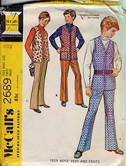 mccalls 2689 (elle_grrrl) Tags: vintage patterns mccalls