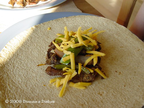 Slow Cooker Fajitas: Cheese