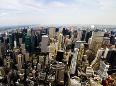 North Manhattan Panorama (Heriberto Acosta Maestre) Tags: new york city nyc urban panorama building photoshop cityscape state manhattan panoramic empire cs3 pentaxk10d justpentax