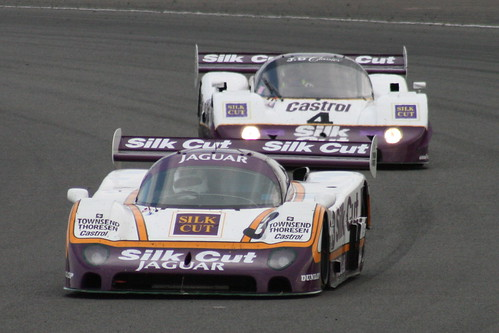 Jaguar XJR-8 and Jaguar XJR-11