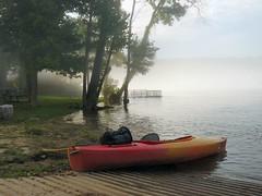 Misty Morning at Rim Shoals