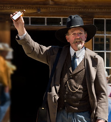 Bannack Days 2008-snake oil