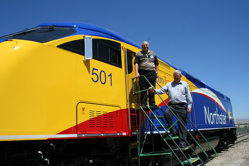 Motive Power, Inc. plant tour & view of first locomotive