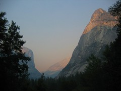 (Matt and Emily) Tags: california yosemite yosemitenationalpark mountwatkins mtwatkins mirrorlaketrail ahwiyahpoint