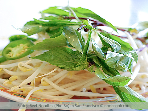 Eating Pho Bo (Vietnamese Beef Noodles) in San Francisco