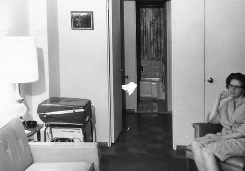 Me in living room, 1968