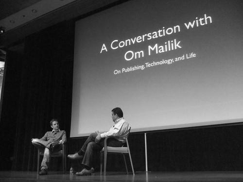 Om Malik and Matt Mullenweg