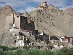 viewing the king palace of Leh in Ladakh (Getty Images) (alles-schlumpf) Tags: india berg asian asia asien king sightseeing ruin himalaya leh indien palast ladakh gettyimages hgel burgruine sehenswrdigkeit knigspalast mounntain gonkhang tsenmo tsenmohgel