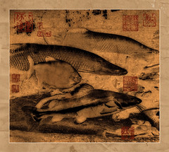 Chinese painting effect fish (IlIIIl) Tags: red painterly abstract color art composition photoshop photo cg paint geometry traditional textures oil impressionism impressionist stipple cubist pictorial modify chinesepainting cubism tridimensional impasto artcafe buildingblock impressionniste divisionism artlibre platinumphoto visiongroup infinestyle amazingamateur geometrism newacademy proudshopper theperfectphotographer damniwishidtakenthat awardtree globalworldawards alwaysexc firedd artcafedomidoexhibitionscomein