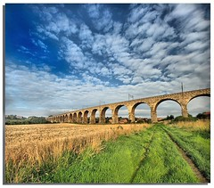 Berwick Upon tweed ........Vertorama (i.rashid007) Tags: uk england northumberland trainbridge berwickupontweed royalborderbridge vertorama