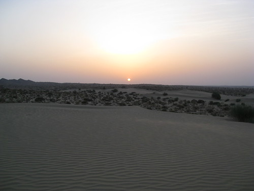 sunset over the dunes 2