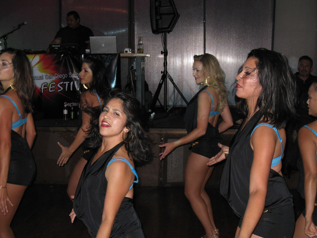 Sexy Salsa Divas of San Diego Performing