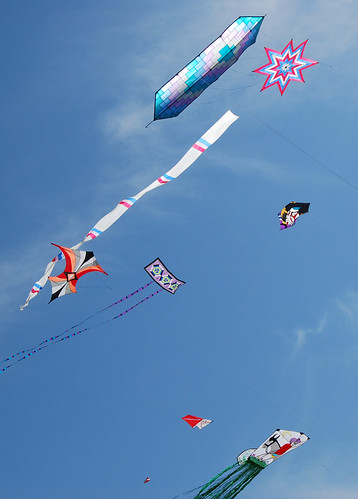 46-Long Beach Flat Kites