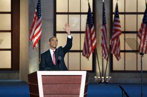 Obama acceptance speech by DemConvention.