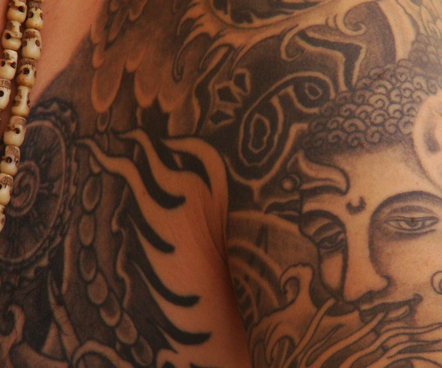 Buda tattoo. Tas tattoo