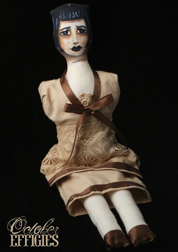 1920's style Boudoir Doll with hidden pocket ooak