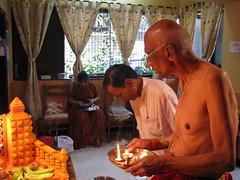 Ganpati Pooja (Preshit) Tags: ganesh pooja bappa ganpati aarti sakal morya