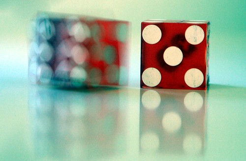 Dice five by @Doug88888, on Flickr
