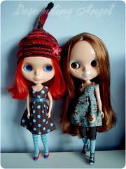 Nina & Oska get new dresses