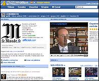 El canal de Le Monde en Dailymotion