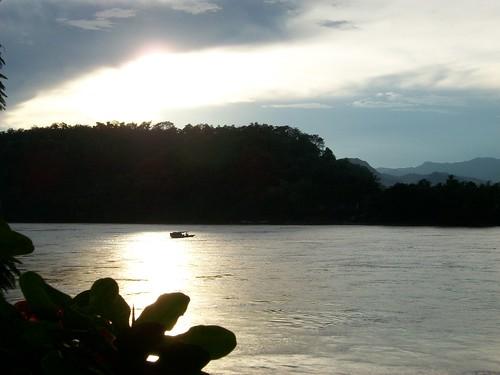 Sunset on Mekong 3