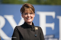 Governor Sarah Palin (rhilton4u) Tags: president political politics rally candidate fairfax republican mccain gop candidates palin nominee vicepresident johnmccain sarahpalin